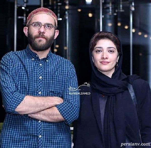 بابک حمیدی و همسرش