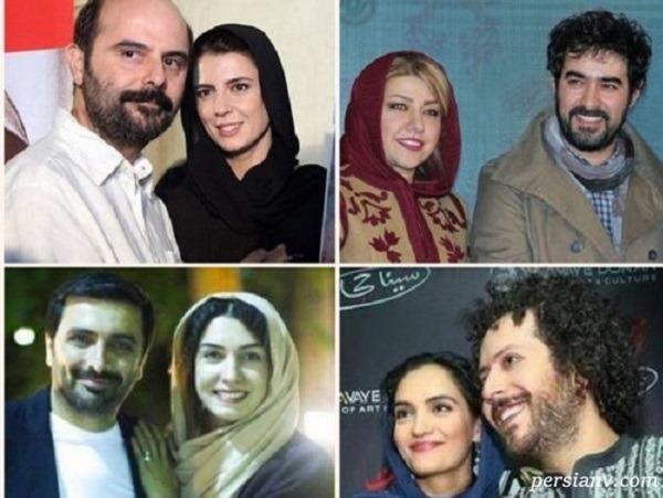 زن و شوهرهای جوان و دوست داشتنی سینمای ایران