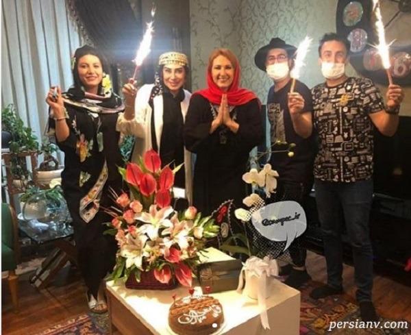 جشن تولد لاکچری فاطمه گودرزی
