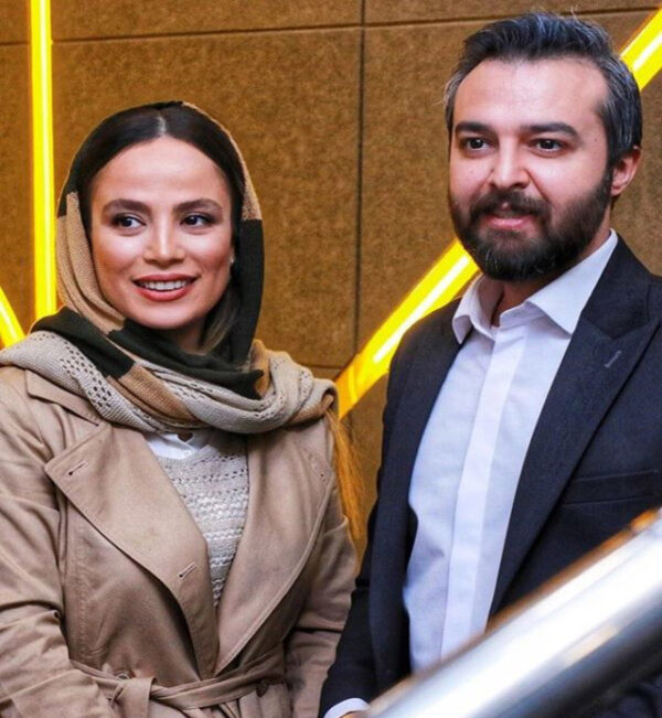 محمود رضا قدیریان و همسرش
