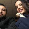 استایل شیک و با کلاس محمود رضا قدیریان و همسرش فرشته آلوسی