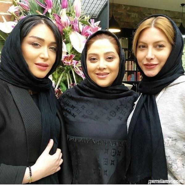 سالن زیبایی بازیگر زن