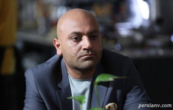 مهدی کوشکی بازیگر سریال دل و همسر ریحانه پارسا در کنار پسرش آرسام