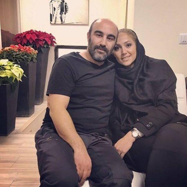 محسن تنابنده و همسر