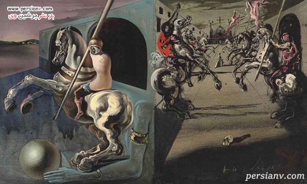 نقاشی سالوادور دالی