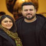 محسن کیایی بازیگر سریال هم گناه و دخترش رز