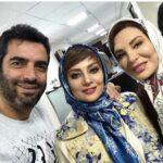 عکس از یکتا ناصر و دخترش در کنار علی سخنگو و همسرش در رستوران