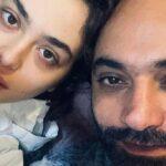 لباس عجیب ریحانه پارسا و مهدی کوشکی در کوچه های تهران