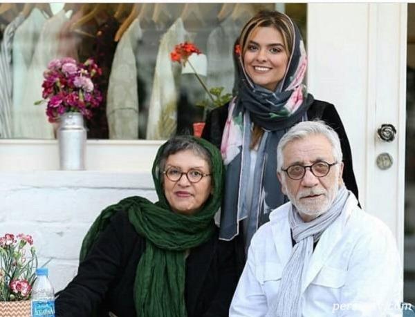 تصاویر رویا تیموریان بازیگر هم گناه با لباس عروس در کنار مسعود رایگان