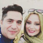 دوچرخه سواری صبا راد و مانی رهنما همسرش در اطراف تهران