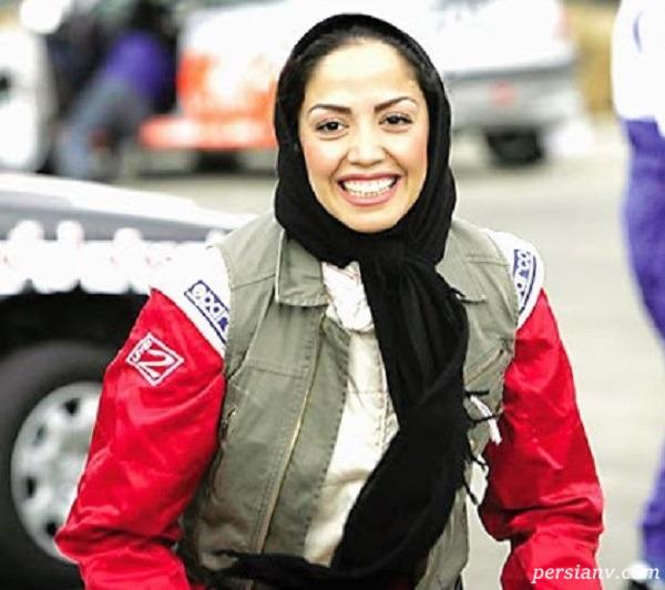 زن ورزشکار اتومبیلران ایرانی