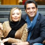 سلفی منوچهر هادی از دوران بارداری یکتا ناصر همسرش