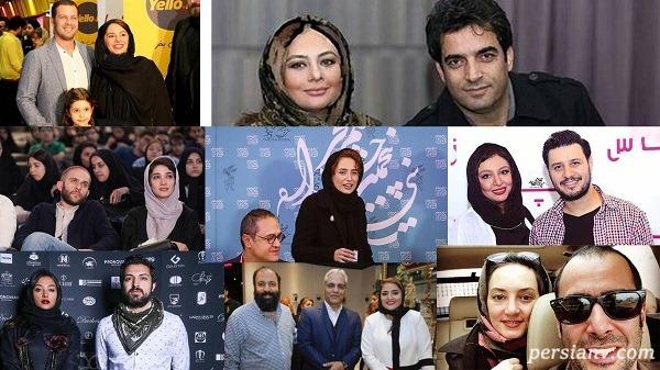 مراسم عروسی بازیگران از نرگس محمدی تا الهام حمیدی