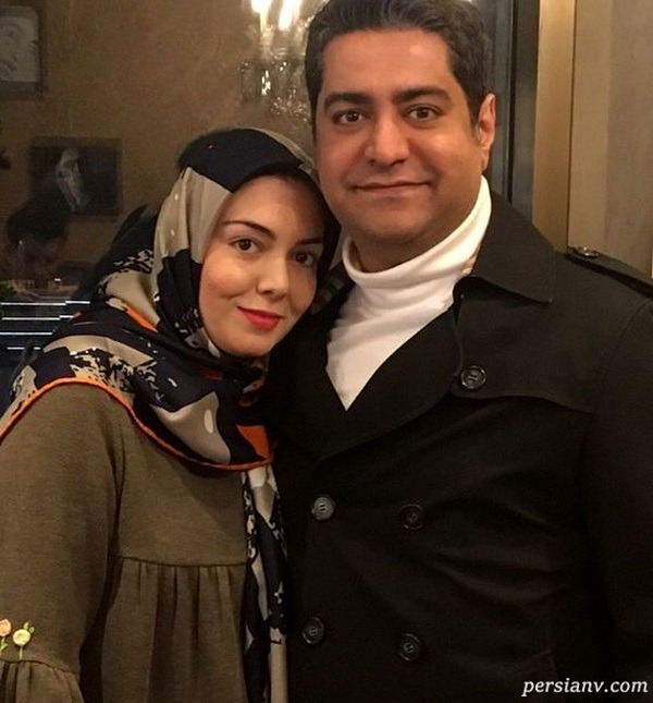 مجری خانم و همسرش
