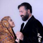 جشن بهاره رهنما و همسرش امیر خسرو بعد از بهبودی از کرونا