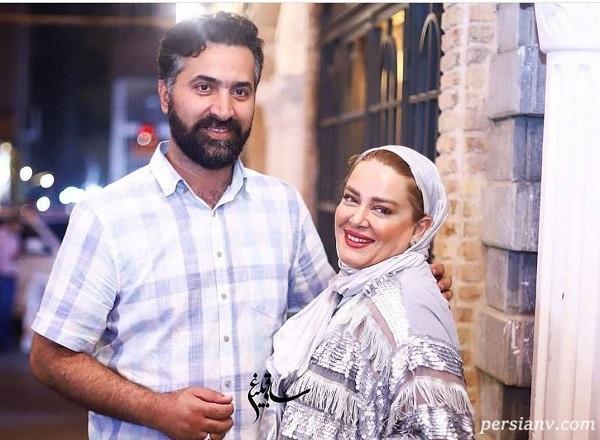 جشن بهاره رهنما و همسرش