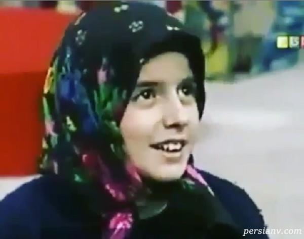 کودکی لیلا حاتمی