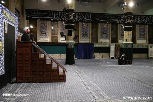 شام غریبان در حسینیه امام خمینی