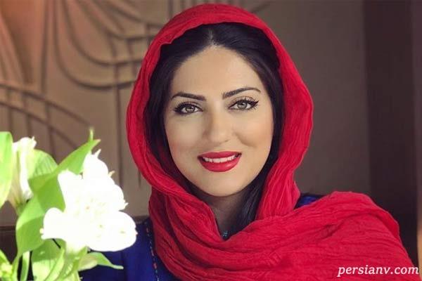 عکس جدید از هلیا امامی بازیگر مشغول تاب سواری در شیکترین جای تهران