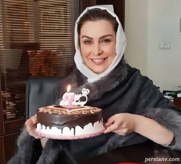 جشن تولد بازیگر زن