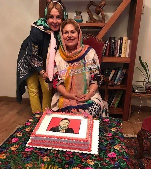 جشن تولد مهرانه مهین ترابی