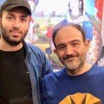 جشن تولد مشترک مهران غفوریان و علی صبوری در یک روز