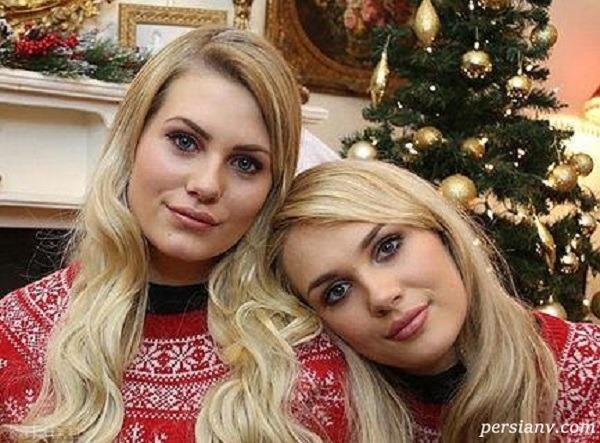 تصاویر عجیب از مادر و دختر شبیه هم که همسرانشان هم دچار اشتباه می شوند
