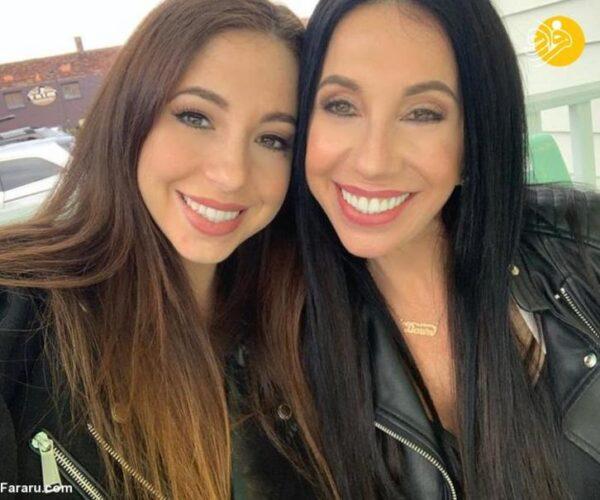 مادر و دختر شبیه هم