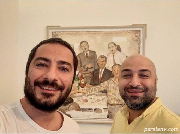 نوید محمدزاده و برادرش