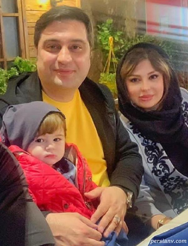 آرش پولاد خان و خانواده