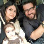 عکس محسن کیایی و دخترش مشغول طبیعت گردی دور از تهران و کرونا