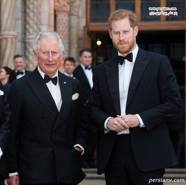 پرنس هری و پدرش چارلز