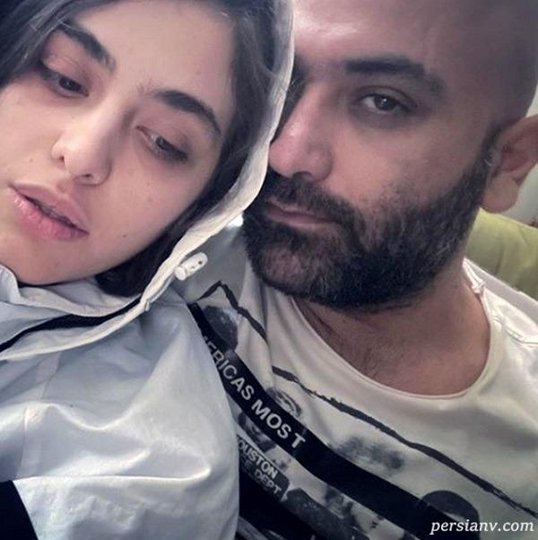 مهدی کوشکی و همسرش