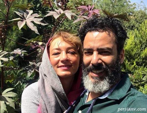 سحر ولدبیگی و پدرش به همراه همسرش نیما فلاح در برج میلاد
