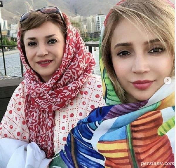 شبنم قلی خانی و خواهر