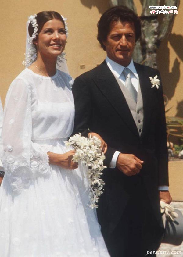 ازدواج پرنسس کارولین موناکو و فیلیپ جونو