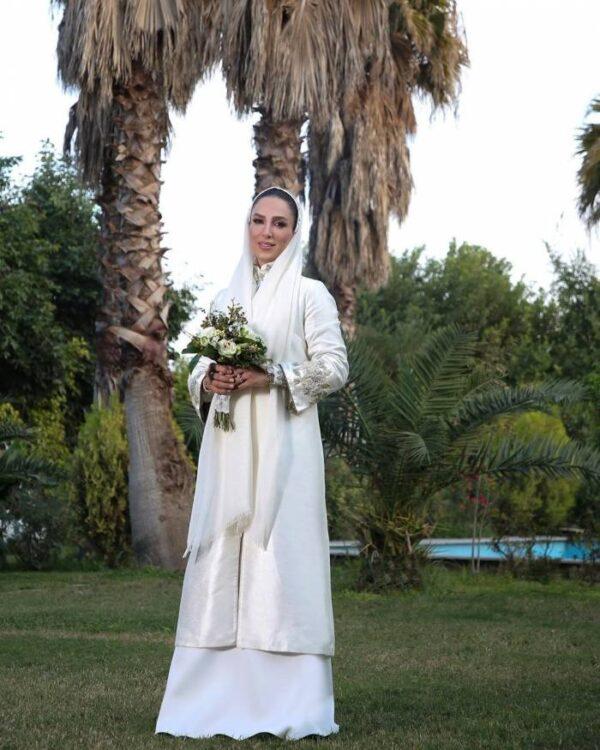 مراسم ازدواج خانم بازیگر