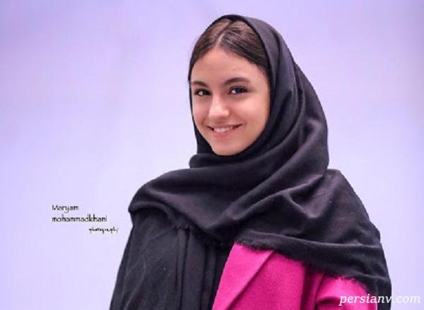 تغییر چهره نیکی نصیریان بازیگر نوجوان بانوی عمارت در ۱۷ سالگی