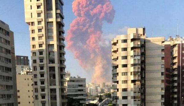 انفجار مهیب در لبنان