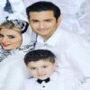 پویا امینی , همسر و پسرش دربیستمین سالگرد ازدواجشان