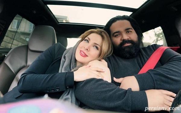 خواننده معروف و همسرش