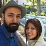حس خوب و طبعیت گردی نیلوفر استخری بازیگر و همسرش در ارتفاع