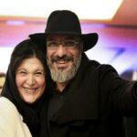 امیر جعفری با پسر و همسرش ریما رامین فر در سواحل یونان