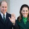 نان پختن نوه ملکه بریتانیا و همسرش کیت میدلتون در نانوایی