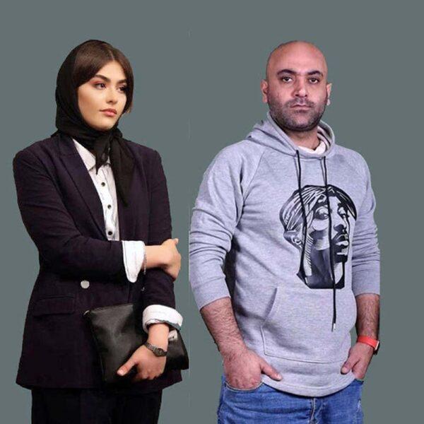 ریحانه پارسا و همسر سابق اش