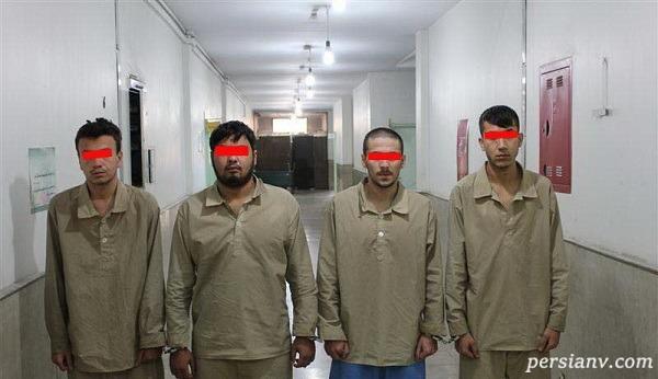 چهره بدون پوشش ۲ برادر اعدامی امروز باند برمودا