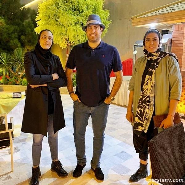 امید حاجیلی و خواهران منصوریان