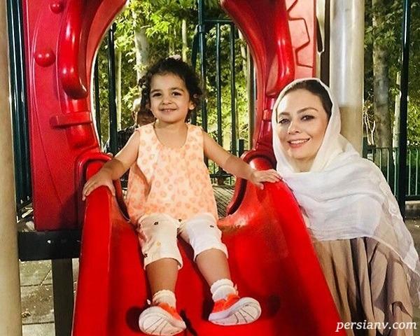 یکا ناصر و دخترش