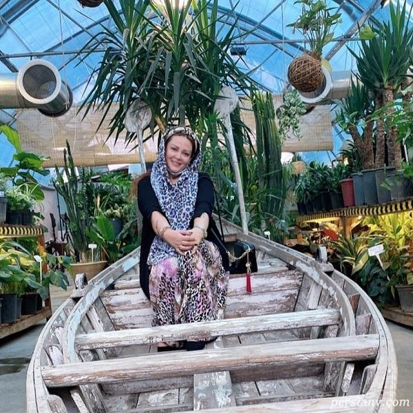 قایق سواری بهاره رهنما