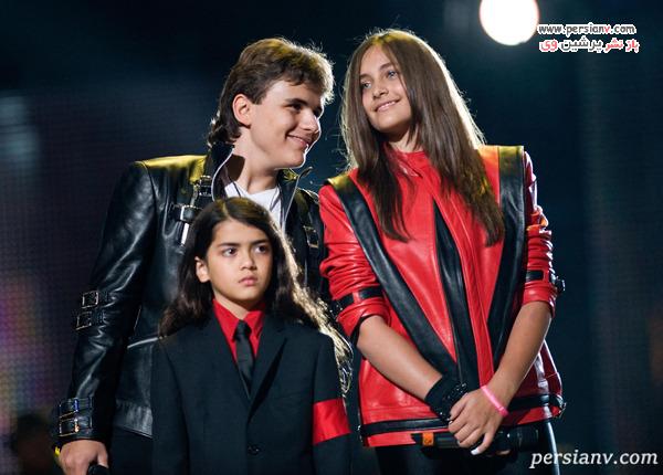 سه فرزند مایکل جکسون